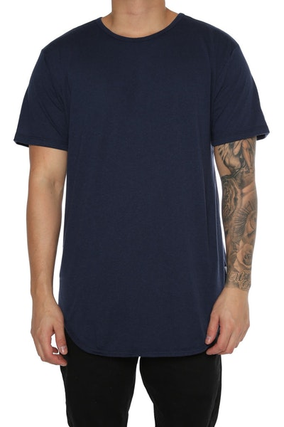 EPTM Triblend OG Long Tee Navy