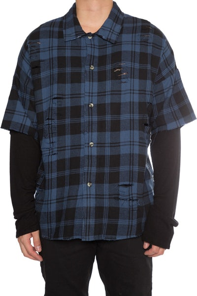 EPTM Flannel Thermal Navy/Black