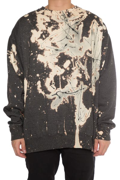 EPTM Bleach Paint Crewneck Charcoal