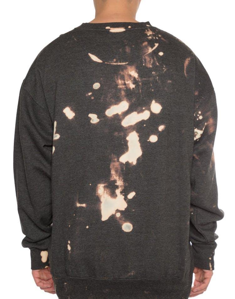 EPTM Bleach Paint Crewneck Charcoal