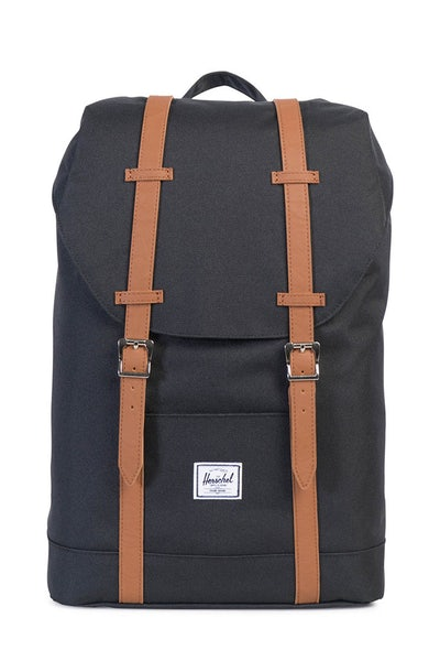 Herschel Supply Co Retreat Mid-Volume Black/Tan