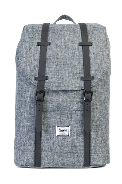 Herschel Supply Co Retreat Mid-Volume Rubber Charcoal/Black