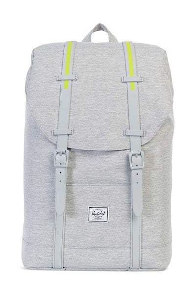 Herschel Bag CO Retreat Mid-Volume Rubber Light Grey/Acid
