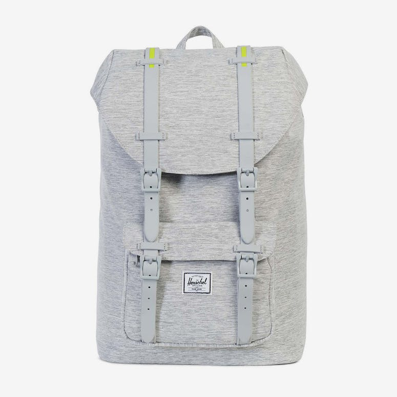 Herschel Supply Co Little America Mid-Volume Rubber Light Grey Acid –  Culture Kings 1d095e57823