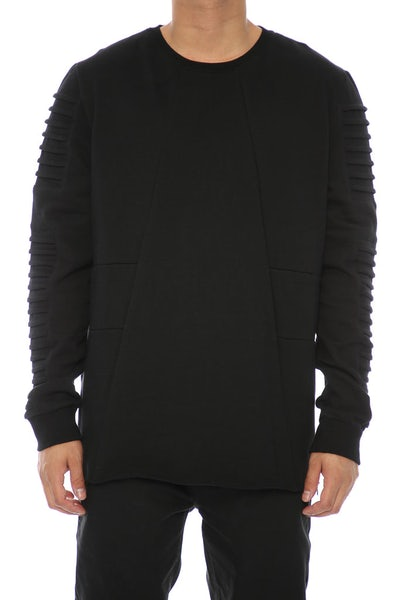 NANA JUDY COME TOGETHER CREWNECK BLACK
