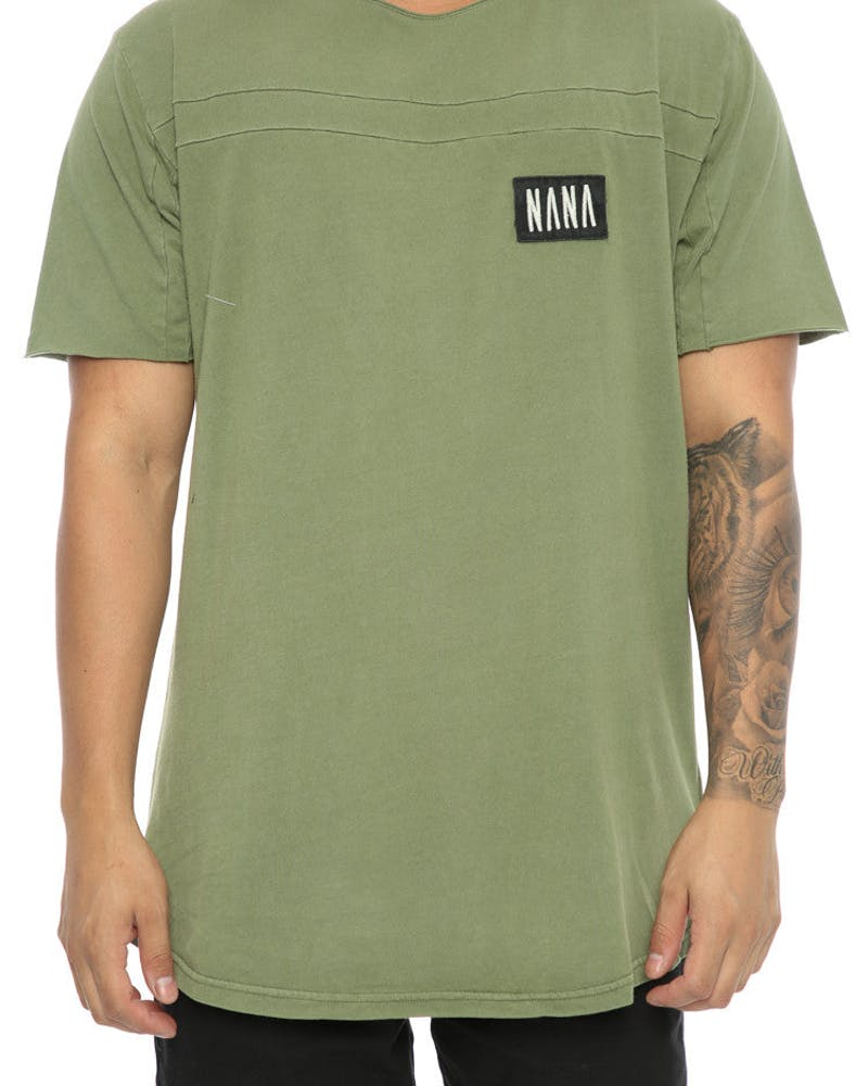 Nana Judy ROADHOUSE TEE ACID KHAKI