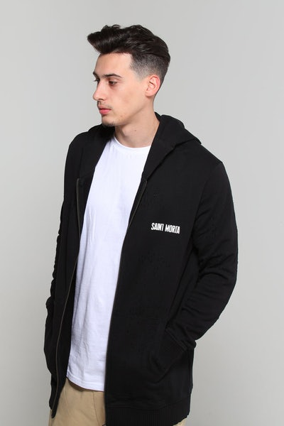 Saint Morta Thrasher Hoody Black