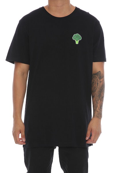 Goat Crew Broccoli Tee Black