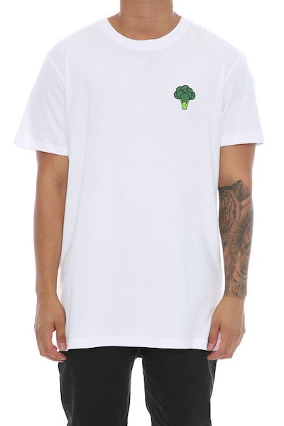 Goat Crew Broccoli Tee White