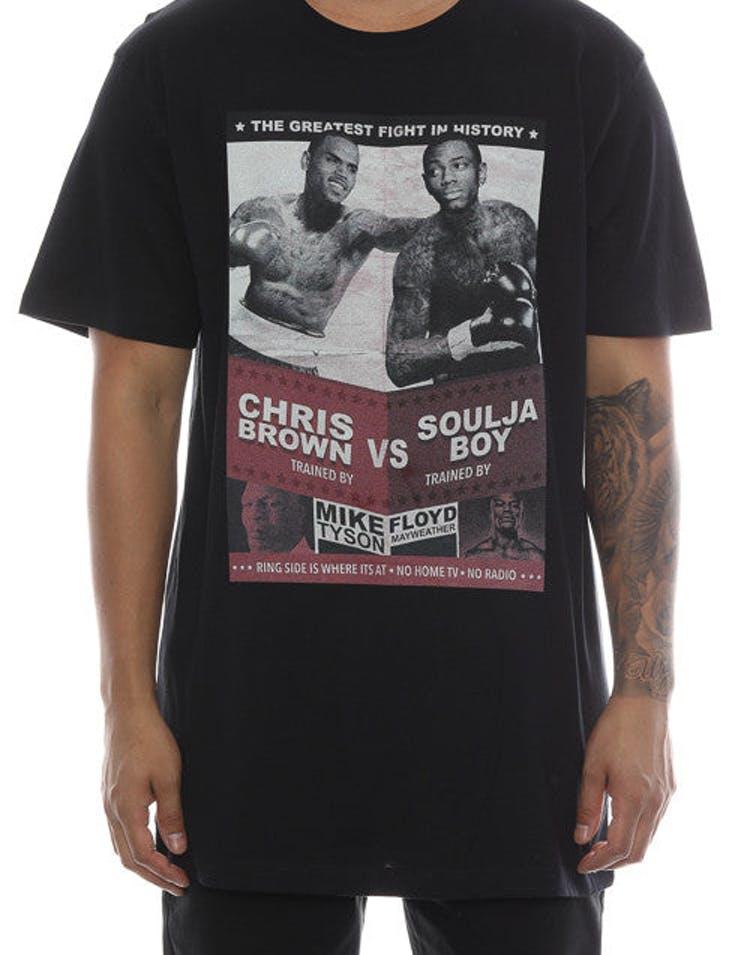 b3dab5543 Goat Crew Chris Brown V Soulja Boy Tee Black – Culture Kings