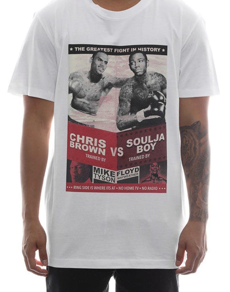9c3901044 Goat Crew Chris Brown V Soulja Boy Tee White – Culture Kings