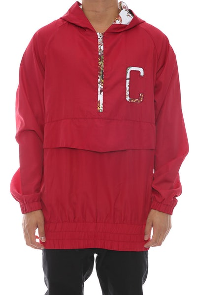 Chinga Clothing Ronny Windbreaker Maroon