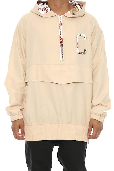 Chinga Clothing Ronny Windbreaker Tan