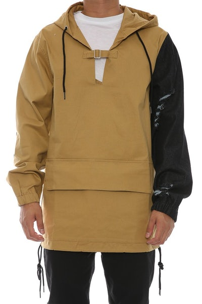 Chinga Clothing Antonio Sleeve Pullover Tan