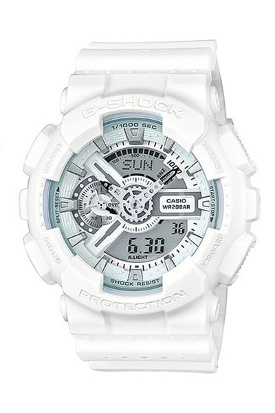 G-Shock GA110LP Punching Patterns White