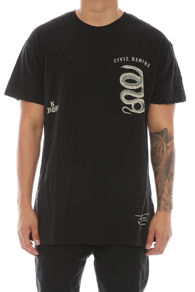 Civil Regime No Hope Tee Black