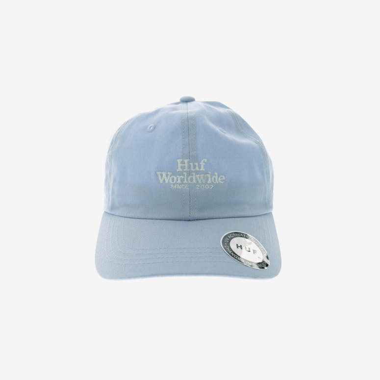 2c95686c179 HUF Worldwide UV Curved Strapback Light Blue – Culture Kings
