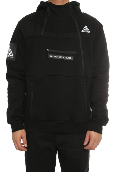 Black Pyramid Tech Hoody Black