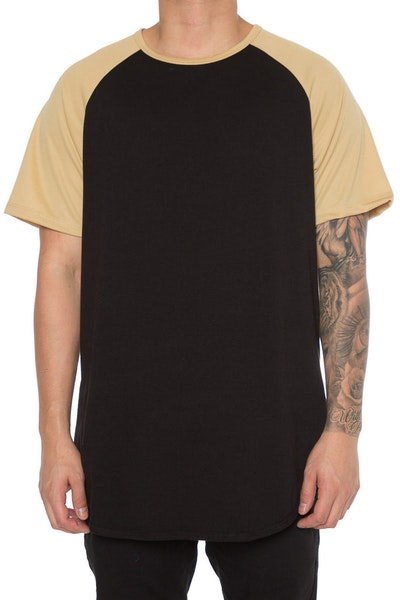 EPTM Raglan OG Long Tee Gold/Black