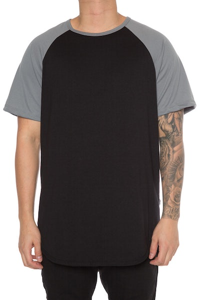 EPTM Raglan OG Long Tee Grey/Black