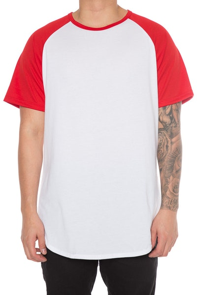 EPTM Raglan OG Long Tee Red