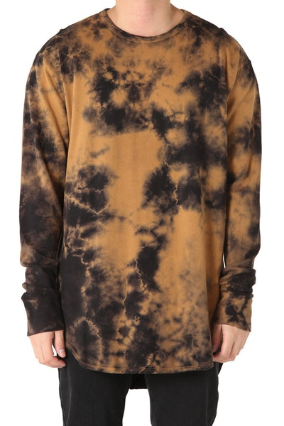 EPTM Crystal Dye OG Long L/S Rust Black