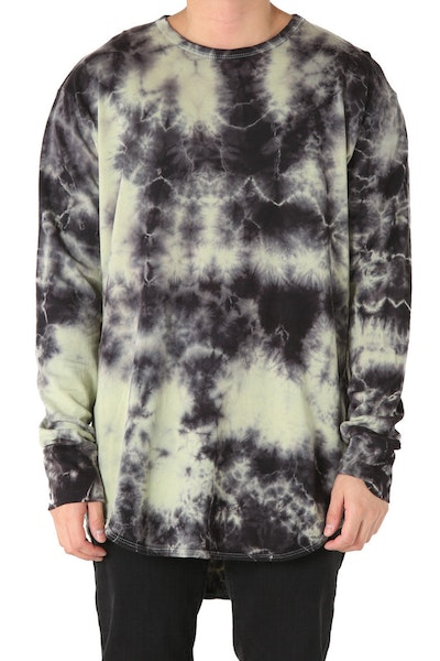 EPTM Crystal Dye OG Long L/S Sage Black