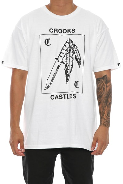 Crooks & Castles Tonto Tee White