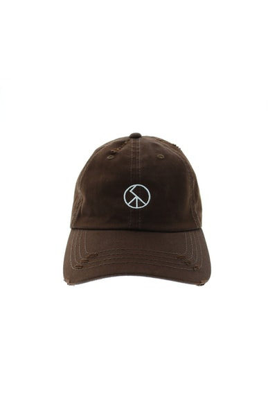 Saint Morta No Peace Strapback Brown