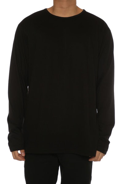 Other UK Clothing Limited Everyday L/S Tee Black