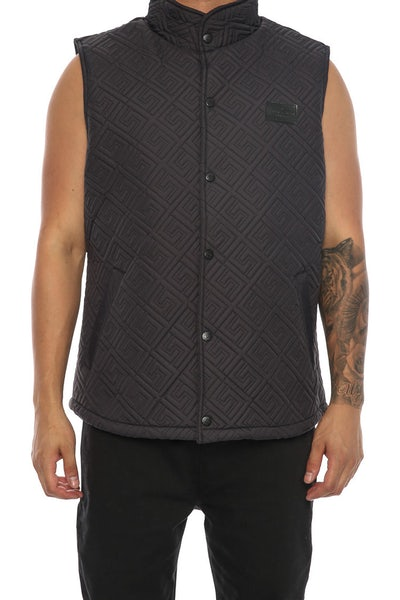 Crooks & Castles Domineer Vest Black
