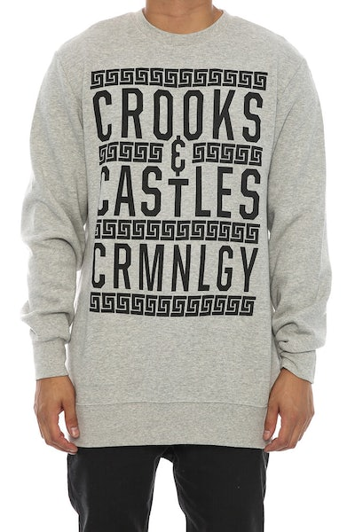 Crooks & Castles Criminology Crew Heather Grey