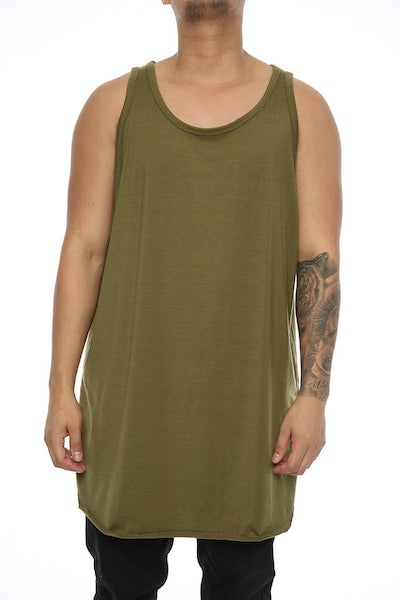 Other UK Clothing Limited Base Layer Vest Khaki