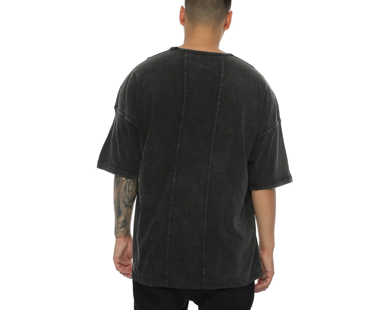 Other UK Clothing Limited Oversized OTHER Tee Black
