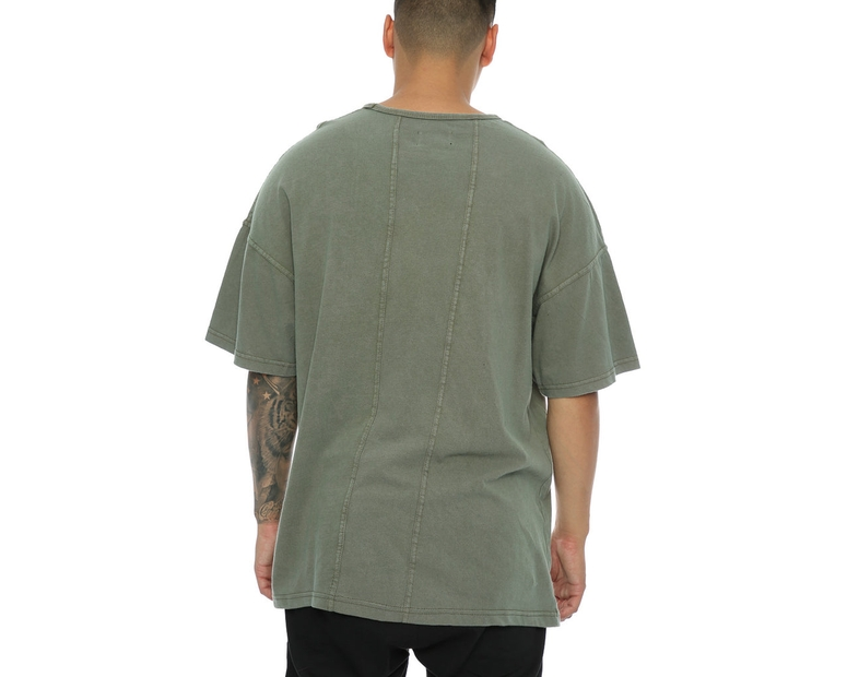 Other UK Clothing Limited Oversized OTHER Tee Khaki