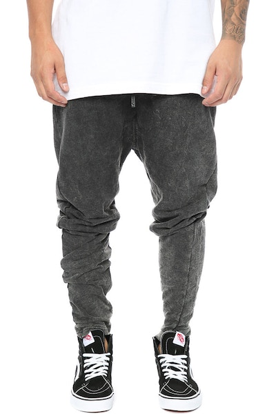 Other UK Clothing Limited Zip Joggers Black