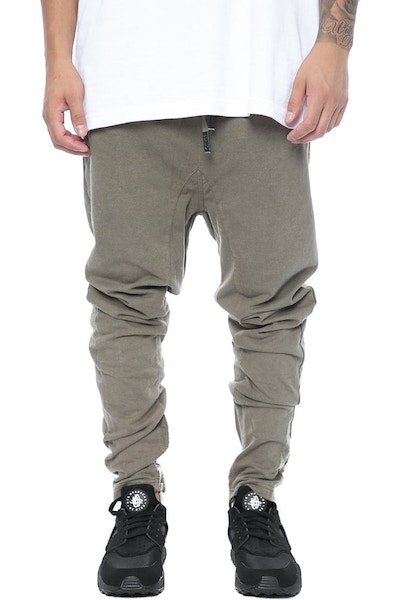 Other UK Clothing Limited Zip Joggers Khaki