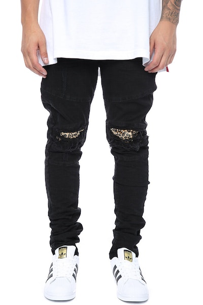 Other UK Clothing Limited V2 Panel Denim/Cheetah