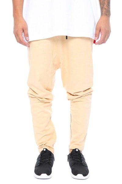Other UK Clothing Limited Zip Joggers Nude