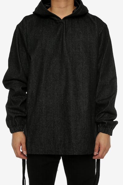 Lifted Anchors Skriver Hood Black