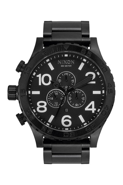 Nixon 51-30 Chrono Black