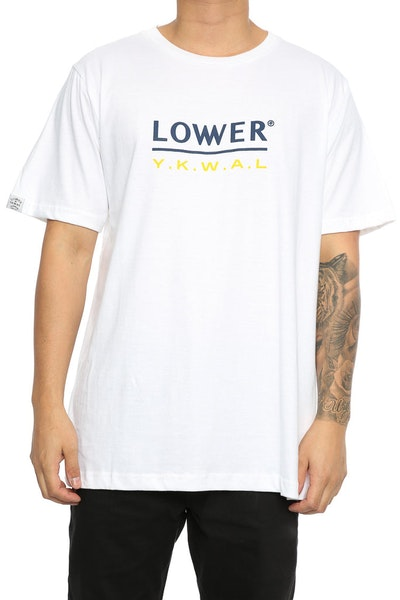 Lower Device QRS Tee White