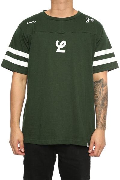 Lower Yale QRS Tee Forest Green