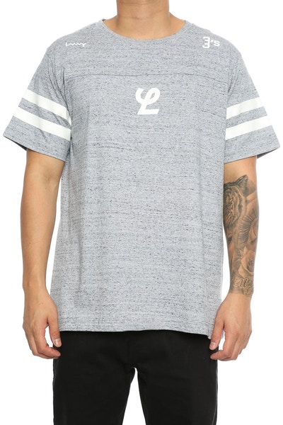 Lower Yale QRS Tee Grey