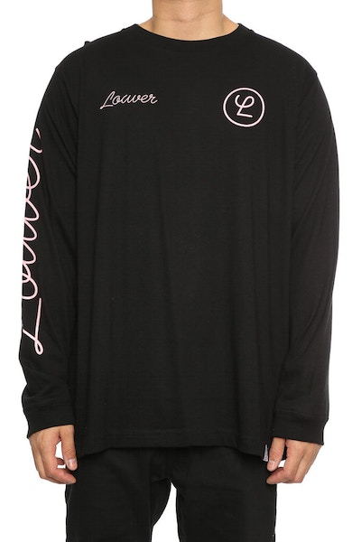 Lower Tier QRS L/S Tee Black