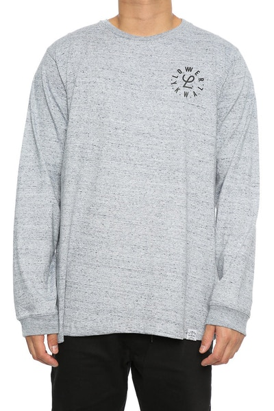 Lower Infinity QRS L/S Tee Grey