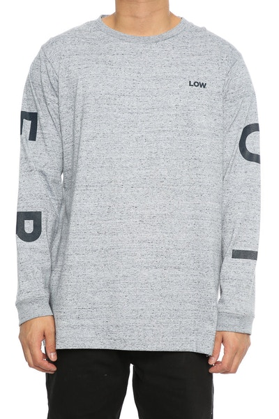 Lower Compass QRS L/S Tee Grey