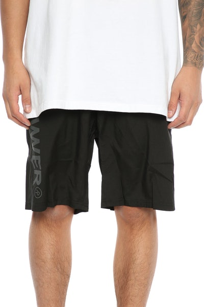 Lower Triple U Gym Short Black