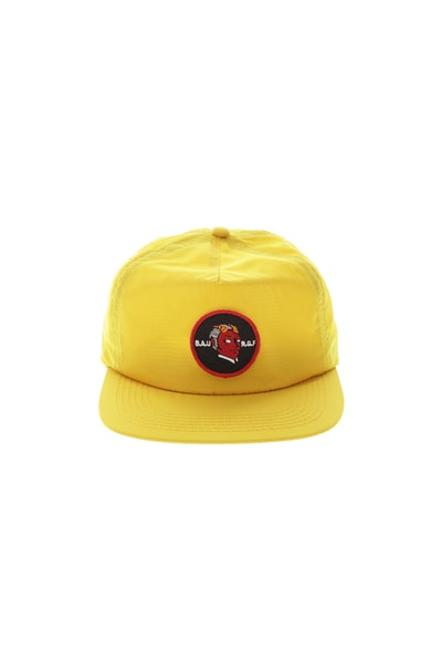 Rats Get Fat Business As Usual Strapback Yellow