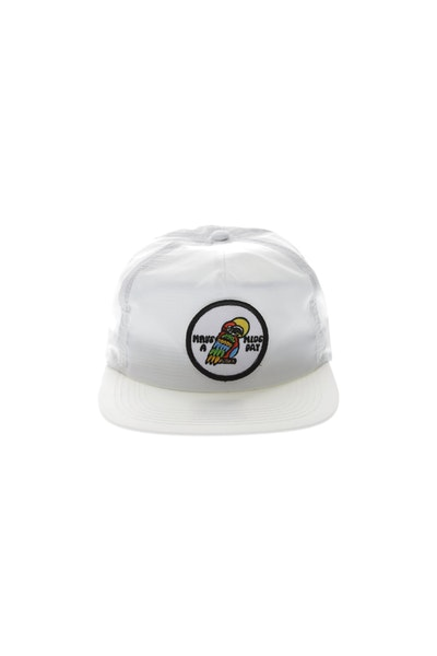 Rats Get Fat Have A Nice Day Strapback White
